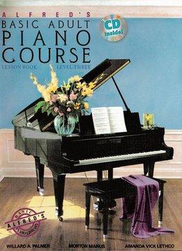 Alfred Alfred's Piano-Methode voor volwassen beginners | Lesboek 3 + CD (EN)