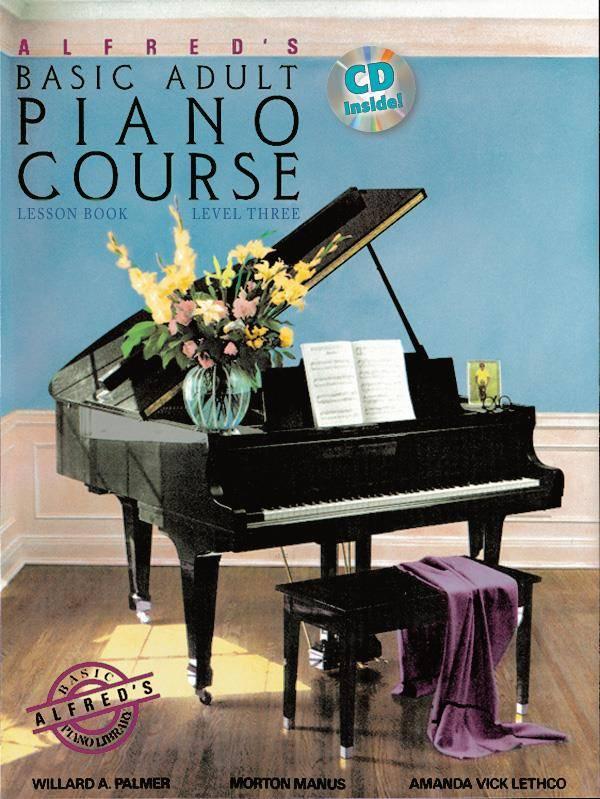 Alfred Alfred's Piano-Methode voor volwassen beginners   Lesboek 3 + CD (EN)
