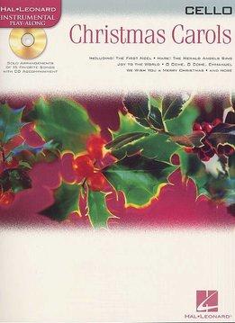 Hal Leonard Instrumental Play-Along for Cello | Christmas Carols