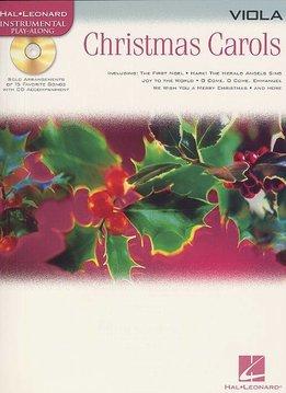 Hal Leonard Instrumental Play-Along for Viola| Christmas Carols