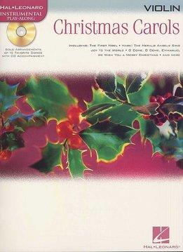 Hal Leonard Instrumental Play-Along for Violin | Christmas Carols