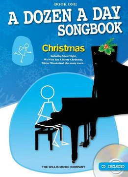 Willis Music A Dozen A Day Songbook | Christmas - Book One (Boek/CD)