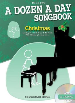 Willis Music A Dozen A Day Songbook | Christmas - Book Two (Boek/CD)