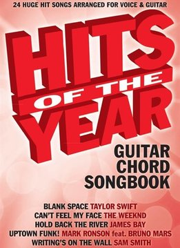 Wise Publications Hits Of The Year 2015 | Songbook voor Gitaar