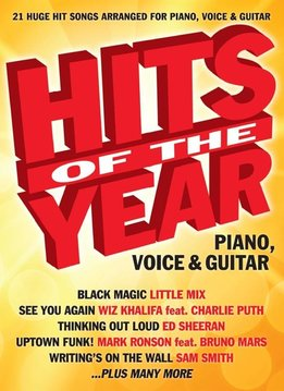 Wise Publications Hits Of The Year 2015 | Songbook voor piano, zang en gitaar