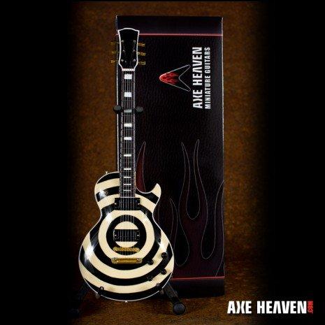 Axe Heaven Axe Heaven miniatuur gitaar | Zakk Wylde Signature Cream Bullseye Model