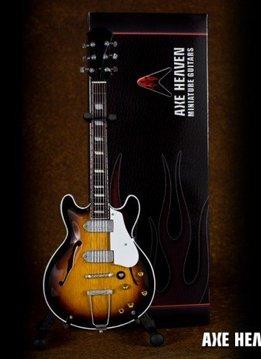 Axe Heaven Axe Heaven miniatuur gitaar | John Lennon Classic 1965 Sunburst