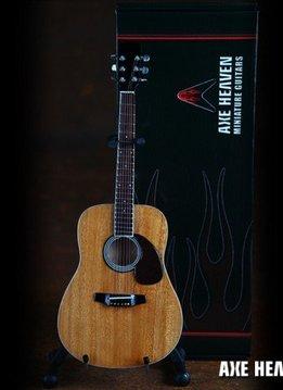Axe Heaven Axe Heaven miniatuur gitaar | Natural Finish Acoustic Model