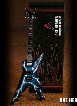 Hal Leonard Axe Heaven miniatuur gitaar | Lightning Bolt Signature Model