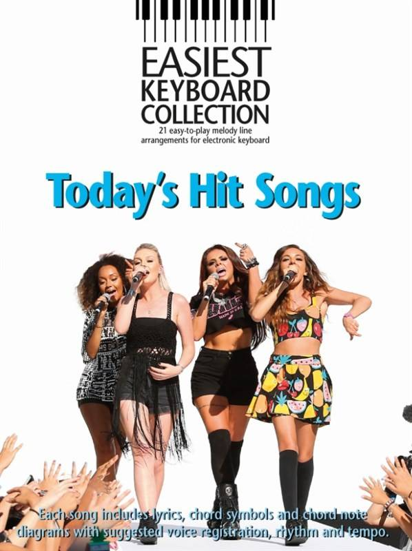 Hal Leonard Easiest Keyboard Collection | Today's Big Hits