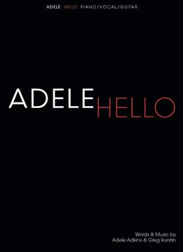 Hal Leonard Adele | Hello (Piano, Vocal & Guitar)