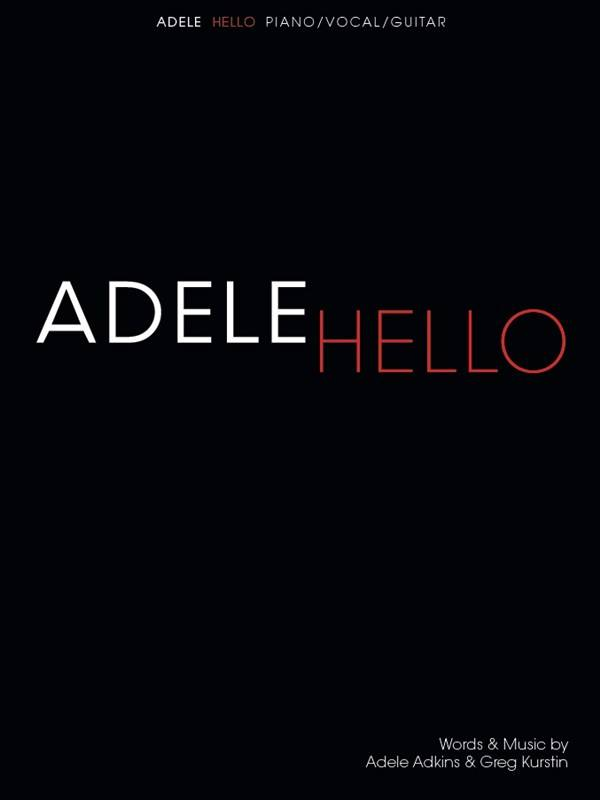 Hal Leonard Adele | Hello (Piano, Vocal & Guitar)