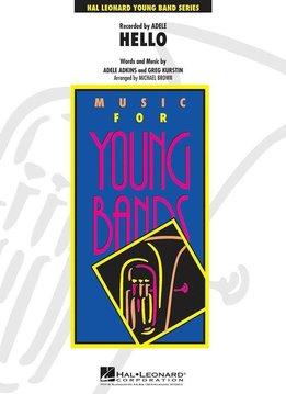 Hal Leonard Adele | Hello | Voor Concert Band (Artist Young Band Series)