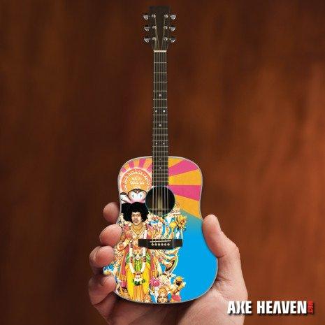 Axe Heaven Axe Heaven Miniatuur Gitaar | Officially Licensed Jimi Hendrix AXIS Bold As Love Mini Acoustic Guitar Model