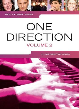 Wise Publications Really Easy Piano | One Direction - Volume 2