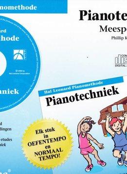 Hal Leonard Hal Leonard Pianomethode   Pianotechniek CD