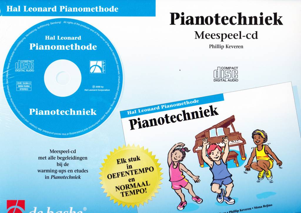 Hal Leonard Hal Leonard Pianomethode | Pianotechniek CD