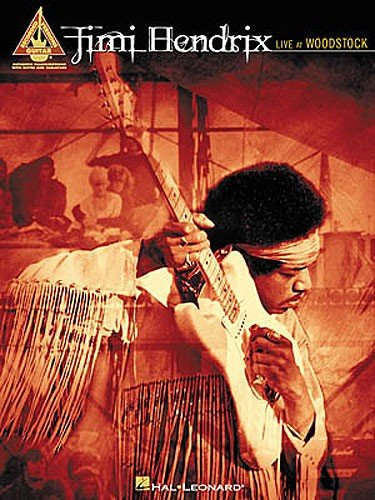 Hal Leonard Jimi Hendrix | Live At Woodstock - Guitar Recorded Versions