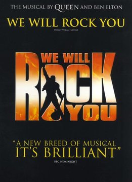 Wise Publications Queen | We Will Rock You | The Musical by Queen and Ben Elton