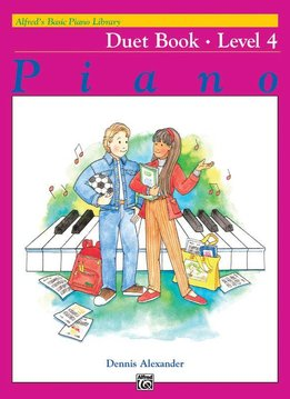 Alfred Alfred's Basic Piano Library | Duet Book niveau 4