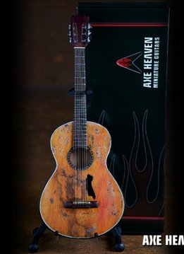 Axe Heaven Axe Heaven miniatuur gitaar | Willie Nelson Signature Trigger Acoustic Model