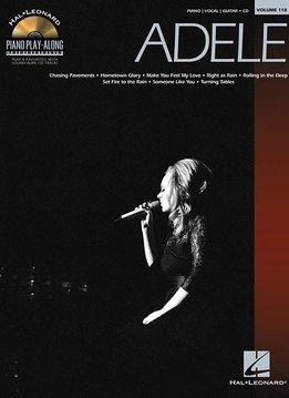 Hal Leonard Adele | Piano Play-Along Volume 118 (Boek/CD)