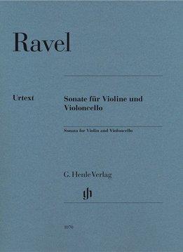 Henle Verlag Ravel | Sonate voor Viool en Cello