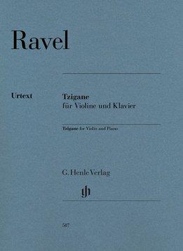 Henle Verlag Ravel | Tzigane voor viool en piano