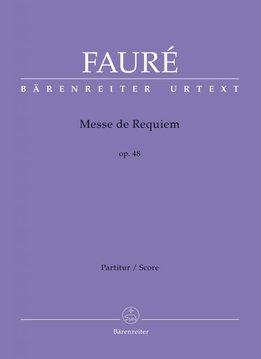 Bärenreiter Fauré | Requiem op. 48 Versie uit 1900 | Partituur