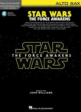 Hal Leonard Star Wars - The Force Awakens | Alt saxofoon