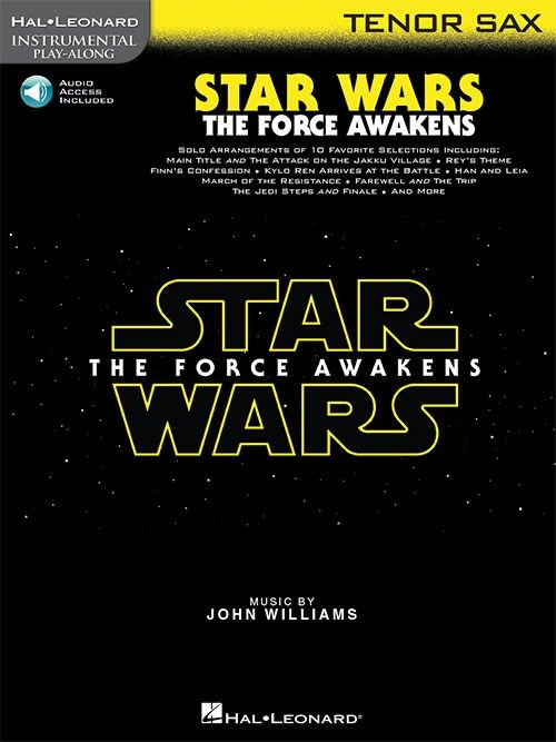 Hal Leonard Star Wars - The Force Awakens | Tenorsaxofoon