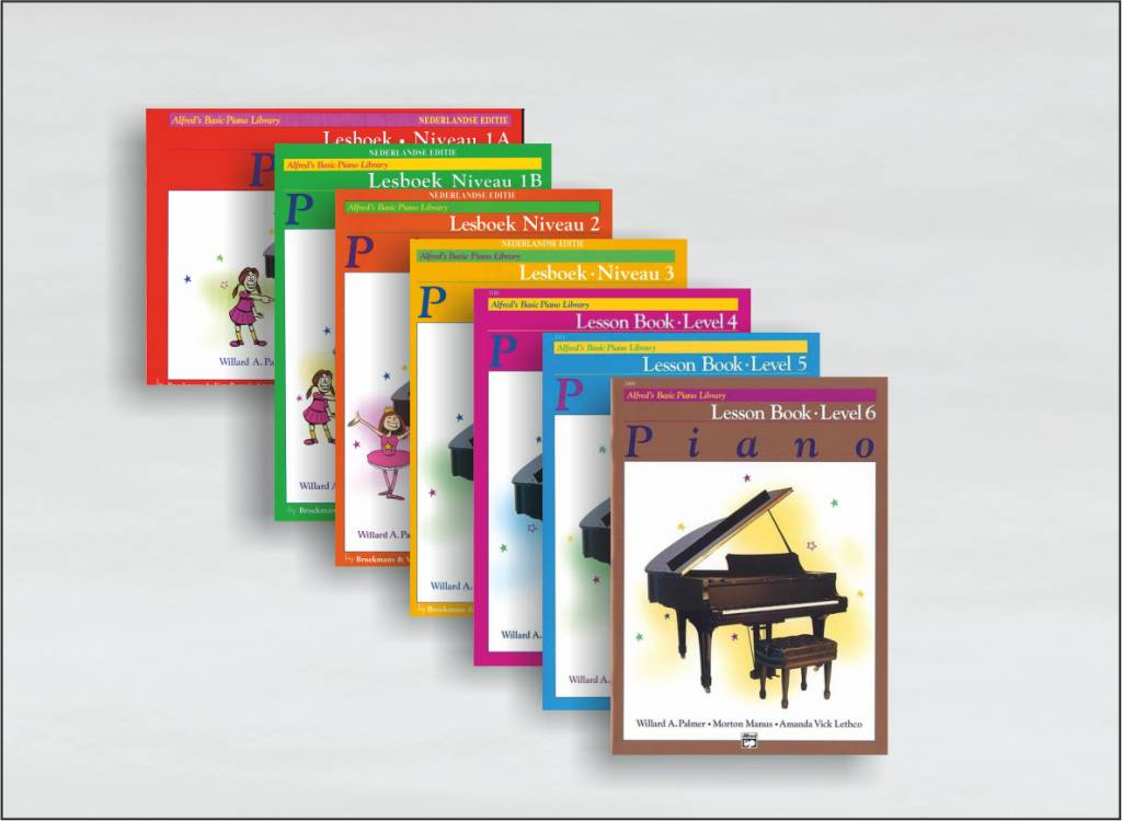 Alfred's Basic Piano Library lesboeken