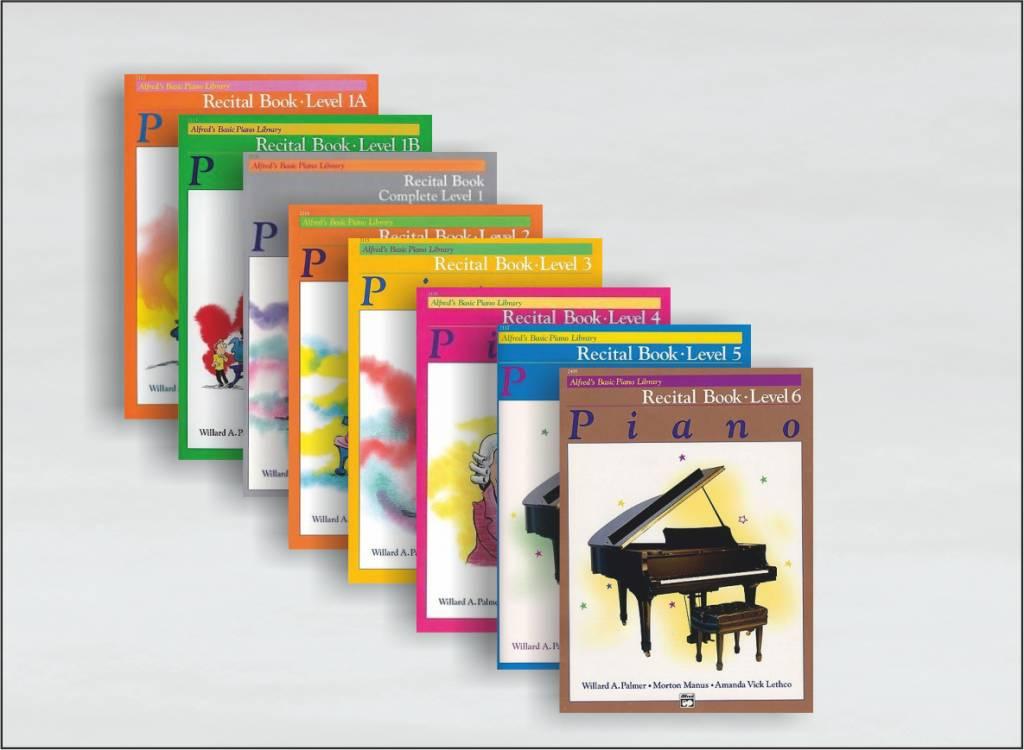 Alfred's Basic Piano Library Recital boeken