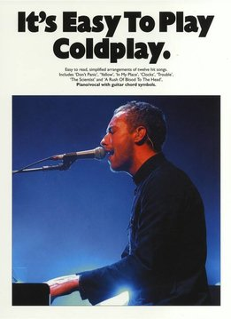 Wise Publications Coldplay | It's Easy To Play Coldplay | Bladmuziek