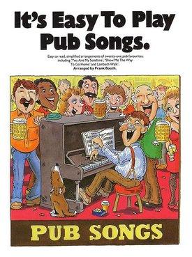 Wise Publications It's Easy To Play Pub Songs | Bladmuziek piano