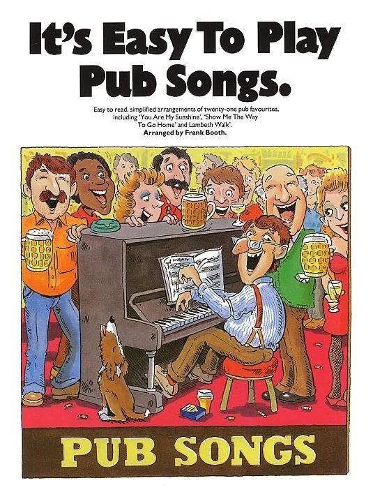 Wise Publications It's Easy To Play Pub Songs   Bladmuziek piano