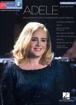 Hal Leonard Adele | Pro Vocal Women's Edition (Boek + Audio)