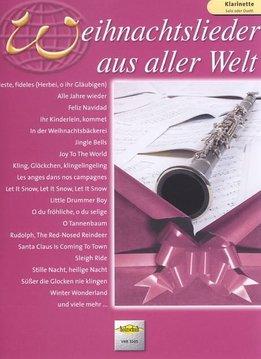 Holzschuh Weihnachtslieder Aus Aller Welt | Bladmuziek klarinet