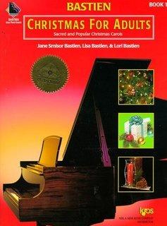 Kjos West Bastien Christmas For Adults | Boek 1 + CD