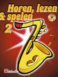 De Haske Horen Lezen & Spelen 2 | tenorsaxofoon | Boek + CD