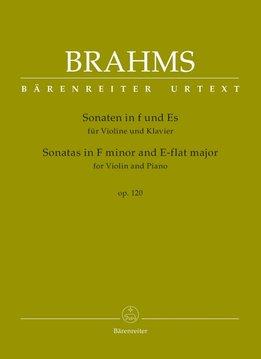 Brahms | Sonates in F klein en Eb voor Viool en Piano