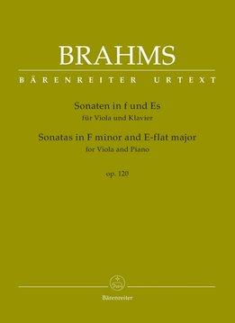 Brahms | Sonates in F klein en Eb voor Altviool en Piano