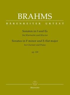 Brahms | Sonates in F klein en Eb voor Klarinet en Piano