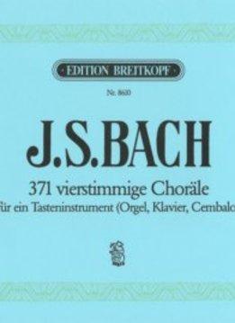 Edition Breitkopf Bach | 371 Vierstemmige Koralen