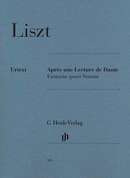Henle Verlag Liszt   Après une Lecture de Dante