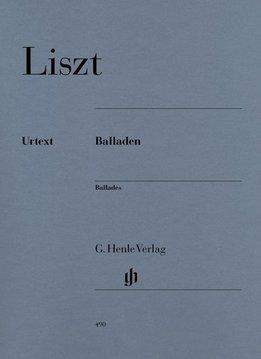Henle Verlag Liszt   Ballades - Bladmuziek piano (urtext)