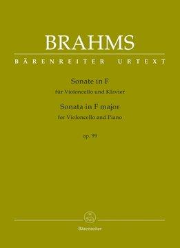 Bärenreiter Brahms | Sonate voor Cello & Piano in F op. 99