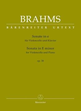 Bärenreiter Brahms | Sonate voor Cello & Piano in e klein op. 38