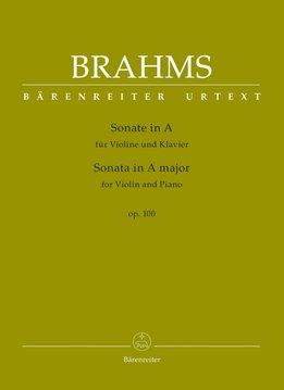 Bärenreiter Brahms | Sonate voor Viool & Piano in A op. 100
