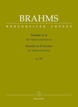 Bärenreiter Brahms | Sonate voor Viool & Piano in d klein op. 108